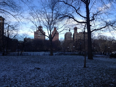 Washington Square Park on a crisp Winter morning :)