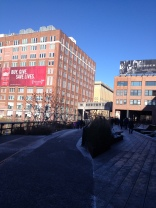 High Line is a one mile park built on a former elevated railroad section.