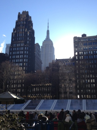 Empire State Building from Bryant Park