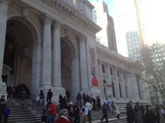 And back to the New York Public Library!
