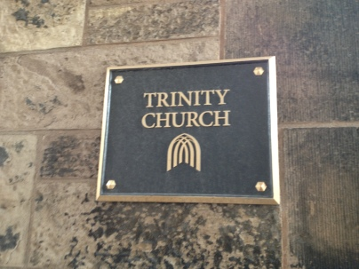 Trinity Church in the Financial District.