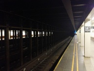 Into the depths of the NYC subway system.
