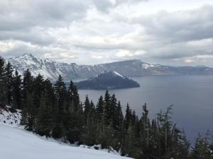Steve's pic of Crater Lake