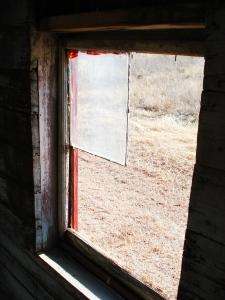 Train car window