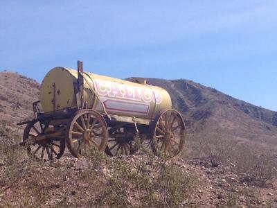 Calico wagon
