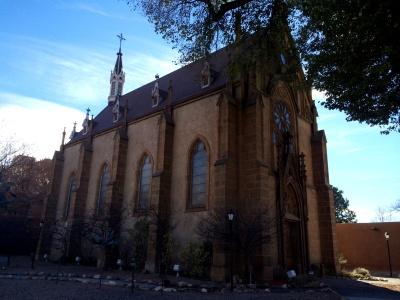 Loretto Chapel exterior
