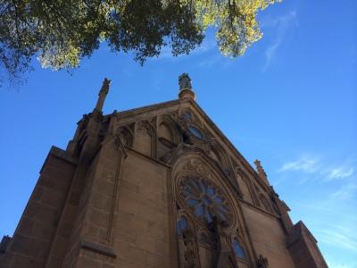 Loretto Chapel exterior 2