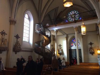 Loretto Chapel Interior
