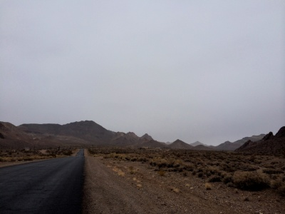 The Road to Rhyolite